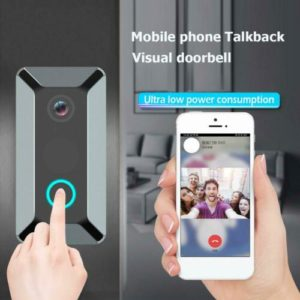 Smart Wireless WiFi Video Doorbell Phone Ring Intercom Camera Door Bell Security
